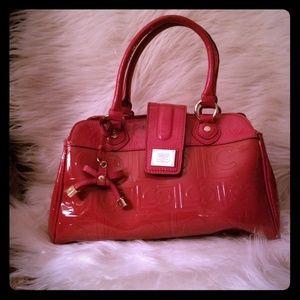 Red Liz Claiborne purse
